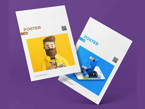 best poster printing press in Dubai